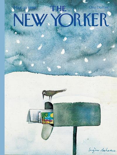 The New Yorker Cover - March 10, 1980-Eug?ne Mihaesco-Premium Giclee Print