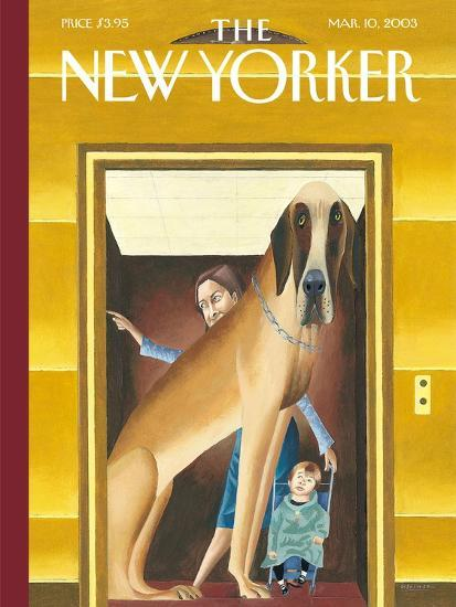 The New Yorker Cover - March 10, 2003-Mark Ulriksen-Premium Giclee Print