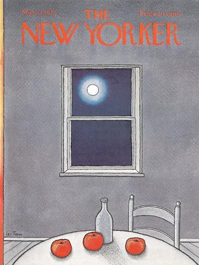 The New Yorker Cover - March 11, 1972-Pierre LeTan-Premium Giclee Print