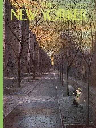 The New Yorker Cover - March 13, 1965-Charles E. Martin-Premium Giclee Print