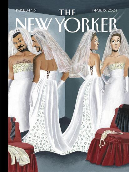 The New Yorker Cover - March 15, 2004-Mark Ulriksen-Premium Giclee Print