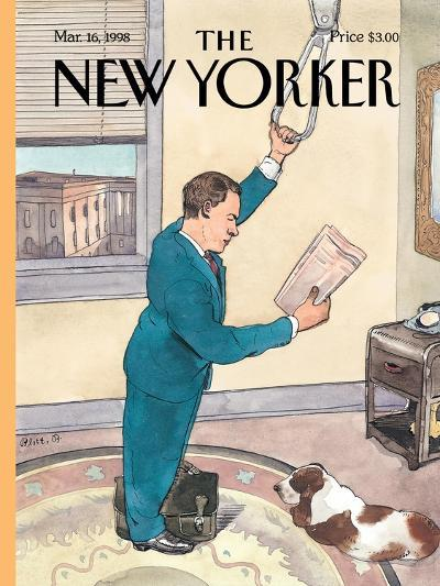 The New Yorker Cover - March 16, 1998-Barry Blitt-Premium Giclee Print