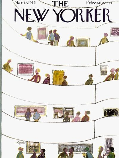 The New Yorker Cover - March 17, 1975-Laura Jean Allen-Premium Giclee Print