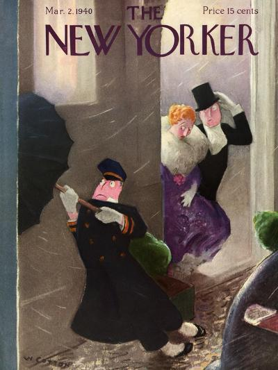 The New Yorker Cover - March 2, 1940-William Cotton-Premium Giclee Print