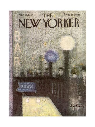 The New Yorker Cover - March 21, 1964-Andre Francois-Premium Giclee Print