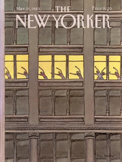 The New Yorker Cover - March 21, 1983-Roxie Munro-Premium Giclee Print