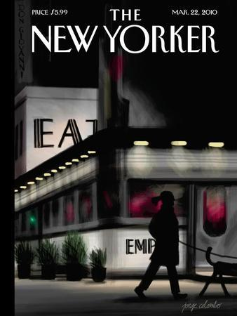 The New Yorker Cover - March 22, 2010-Jorge Colombo-Premium Giclee Print