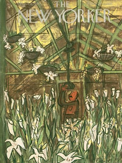 The New Yorker Cover - March 24, 1951-Ludwig Bemelmans-Premium Giclee Print