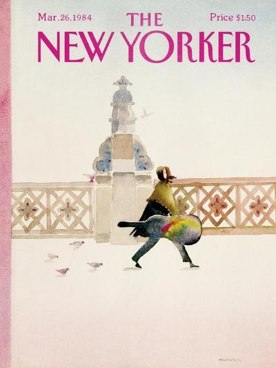 The New Yorker Cover - March 26, 1984-Susan Davis-Premium Giclee Print