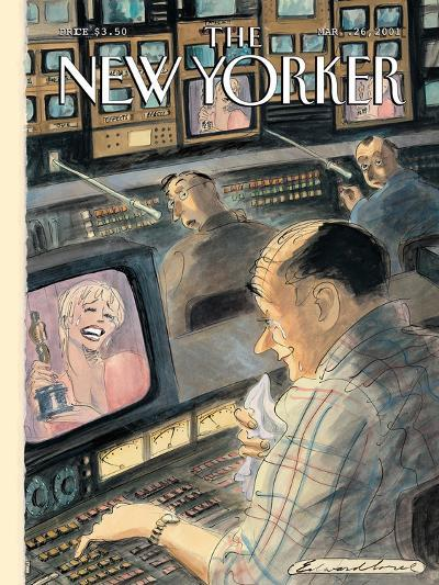 The New Yorker Cover - March 26, 2001-Edward Sorel-Premium Giclee Print