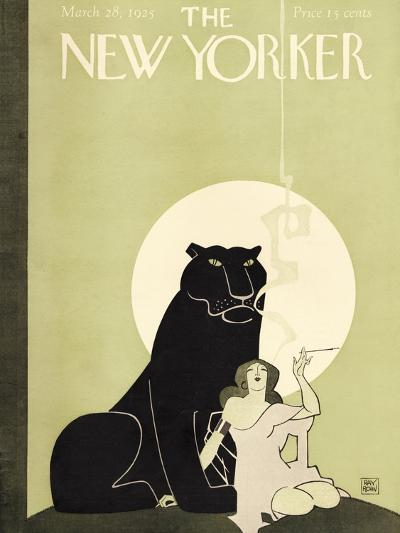 The New Yorker Cover - March 28, 1925-Ray Rohn-Premium Giclee Print