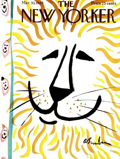 The New Yorker Cover - March 30, 1963-Abe Birnbaum-Premium Giclee Print