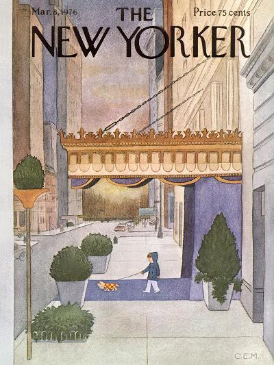 The New Yorker Cover - March 8, 1976-Charles E. Martin-Premium Giclee Print