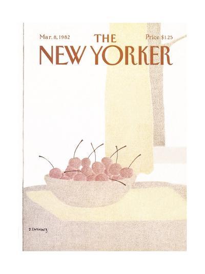 The New Yorker Cover - March 8, 1982-Devera Ehrenberg-Premium Giclee Print