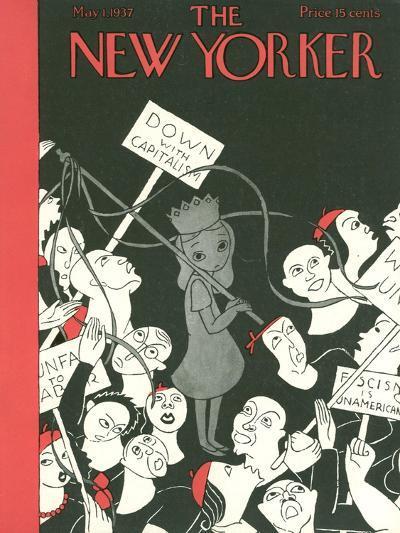 The New Yorker Cover - May 1, 1937-Christina Malman-Premium Giclee Print