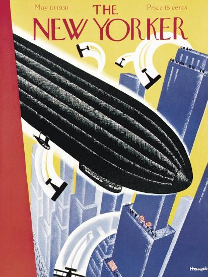 The New Yorker Cover - May 10, 1930-Theodore G. Haupt-Premium Giclee Print