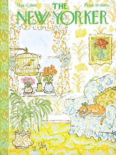 The New Yorker Cover - May 11, 1968-William Steig-Premium Giclee Print