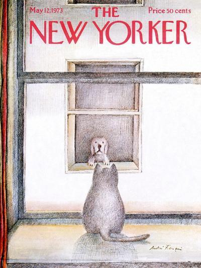 The New Yorker Cover - May 12, 1973-Andre Francois-Premium Giclee Print