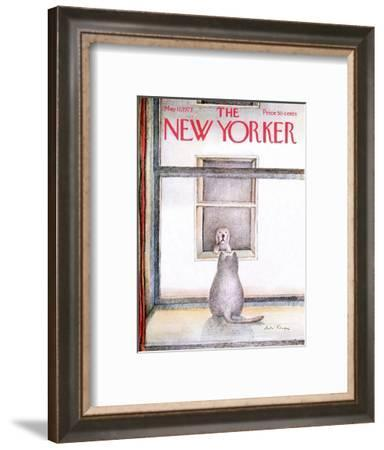 The New Yorker Cover - May 12, 1973-Andre Francois-Framed Premium Giclee Print