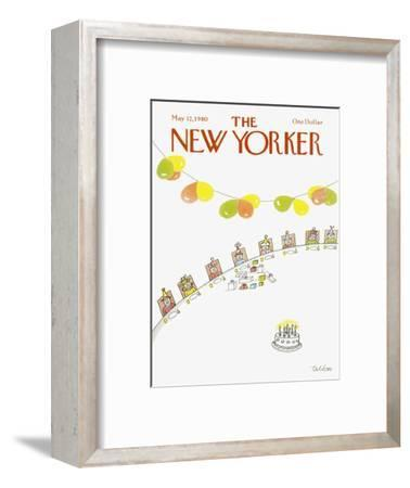 The New Yorker Cover - May 12, 1980-Robert Tallon-Framed Premium Giclee Print