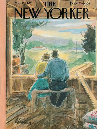 The New Yorker Cover - May 13, 1961-Perry Barlow-Premium Giclee Print