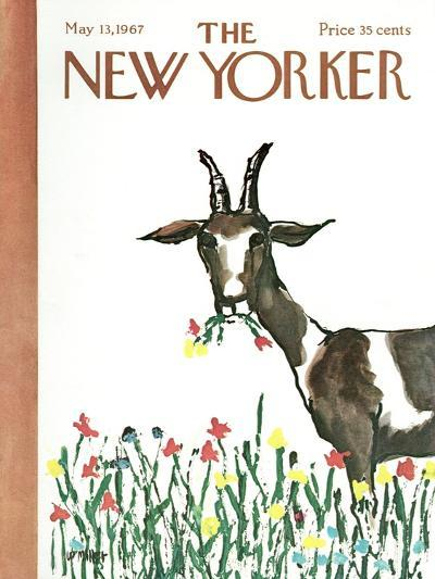 The New Yorker Cover - May 13, 1967-Warren Miller-Premium Giclee Print