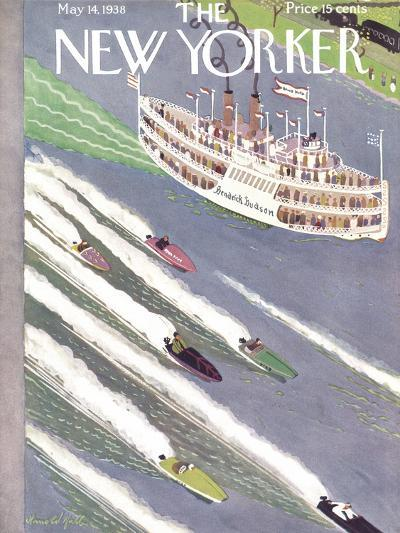 The New Yorker Cover - May 14, 1938-Arnold Hall-Premium Giclee Print