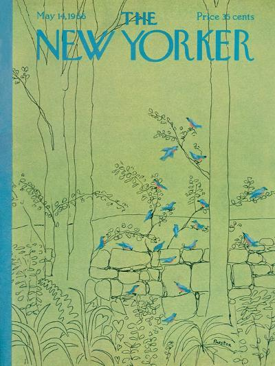 The New Yorker Cover - May 14, 1966-David Preston-Premium Giclee Print