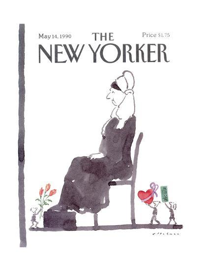 The New Yorker Cover - May 14, 1990-R.O. Blechman-Premium Giclee Print