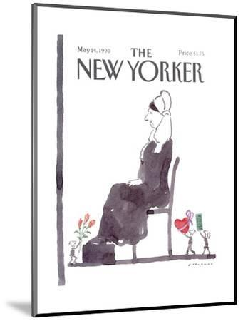 The New Yorker Cover - May 14, 1990-R.O. Blechman-Mounted Premium Giclee Print