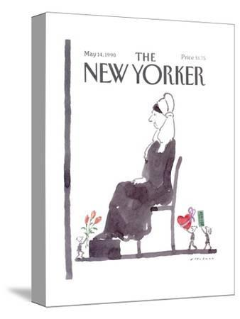 The New Yorker Cover - May 14, 1990-R.O. Blechman-Stretched Canvas Print