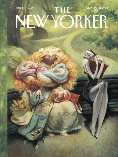 The New Yorker Cover - May 15, 2000-Carter Goodrich-Premium Giclee Print