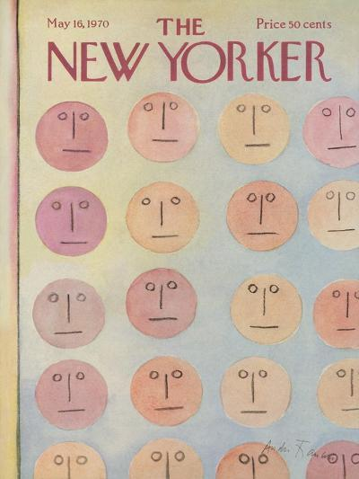 The New Yorker Cover - May 16, 1970-Andre Francois-Premium Giclee Print