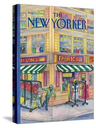 The New Yorker Cover - May 16, 1988-Iris VanRynbach-Stretched Canvas Print