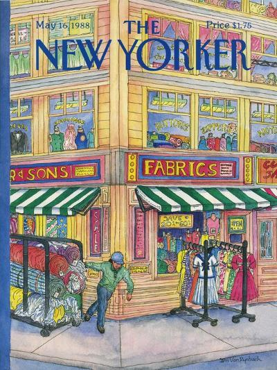 The New Yorker Cover - May 16, 1988-Iris VanRynbach-Premium Giclee Print