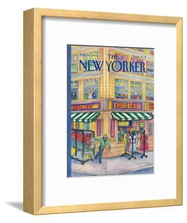 The New Yorker Cover - May 16, 1988-Iris VanRynbach-Framed Premium Giclee Print