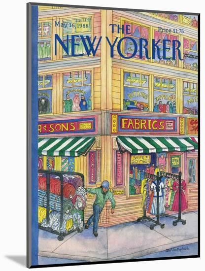 The New Yorker Cover - May 16, 1988-Iris VanRynbach-Mounted Premium Giclee Print