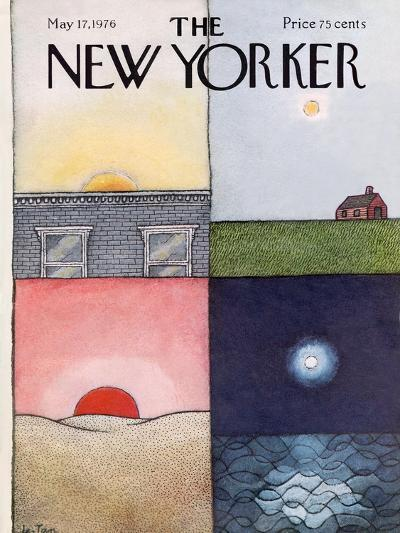 The New Yorker Cover - May 17, 1976-Pierre LeTan-Premium Giclee Print