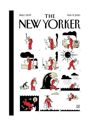 The New Yorker Cover - May 17, 2010-Joost Swarte-Premium Giclee Print