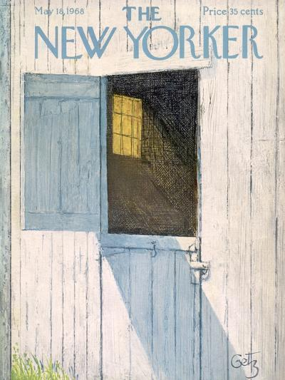 The New Yorker Cover - May 18, 1968-Arthur Getz-Premium Giclee Print