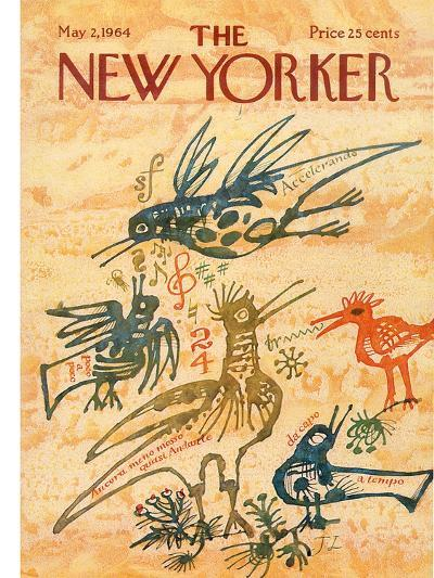The New Yorker Cover - May 2, 1964-Joseph Low-Premium Giclee Print