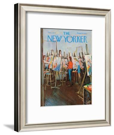 The New Yorker Cover - May 2, 1970-Arthur Getz-Framed Premium Giclee Print