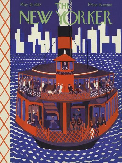 The New Yorker Cover - May 21, 1927-Ilonka Karasz-Premium Giclee Print