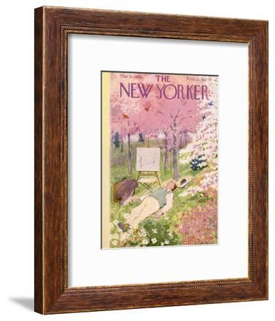 The New Yorker Cover - May 21, 1949-Garrett Price-Framed Premium Giclee Print