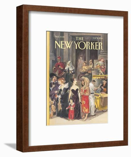 The New Yorker Cover - May 21, 2001-Edward Sorel-Framed Premium Giclee Print