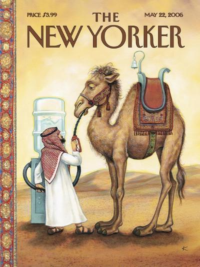 The New Yorker Cover - May 22, 2006-Anita Kunz-Premium Giclee Print