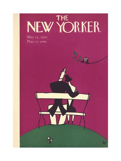 The New Yorker Cover - May 23, 1925-Julian de Miskey-Premium Giclee Print