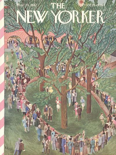 The New Yorker Cover - May 23, 1942-Ilonka Karasz-Premium Giclee Print