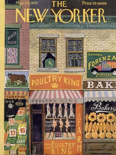 The New Yorker Cover - May 24, 1947-Witold Gordon-Premium Giclee Print