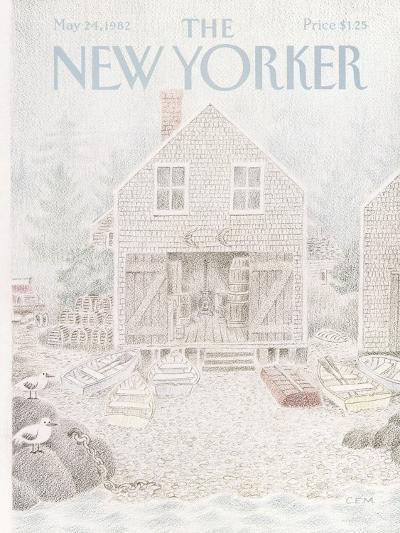 The New Yorker Cover - May 24, 1982-Charles E. Martin-Premium Giclee Print